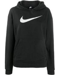 Nike Hoodie Met Print - Zwart