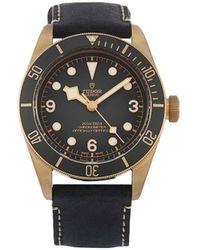 Tudor Наручные Часы Black Bay 43 Мм 2020-го Года Pre-owned - Черный