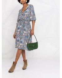 Zadig & Voltaire Rhone Wild Garden ドレス - ブルー