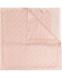 Valentino Vロゴ スカーフ - ピンク