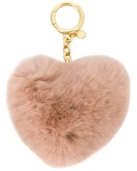 MICHAEL Michael Kors - Heart Shaped Keyring - Lyst
