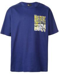 Kolor Camiseta con estampado gráfico - Azul