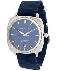 Briston Clubmaster Iconic Horloge - Blauw