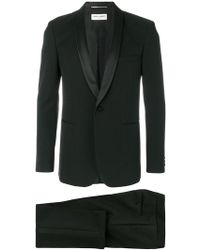 Saint Laurent - Formal Fitted Two-piece Suit - Lyst