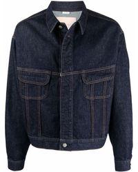 Calvin Klein X Heron Preston Cropped Denim Jacket - ブルー