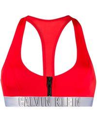 Calvin Klein Bikinitop - Rood