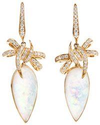 Stephen Webster - Embellished Bow Earrings - Lyst