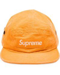 Supreme Pet Met Logo - Oranje