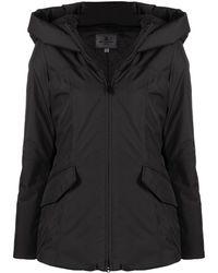 Peuterey Zip-up Hooded Coat - Black