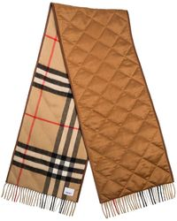 Burberry Sciarpa a quadri - Marrone