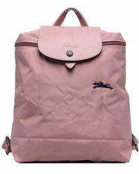 Longchamp Рюкзак Le Pliage Club - Розовый
