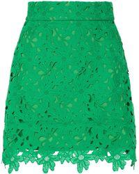 Bambah Kelly Lace Mini Skirt - Green