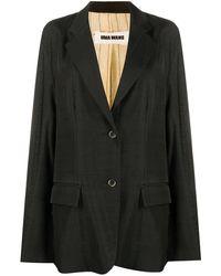 Uma Wang オーバーサイズ ジャケット - ブラック
