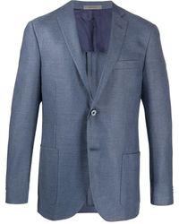 Corneliani シングルジャケット - ブルー