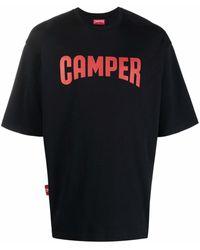 Camper T-shirt à logo imprimé - Noir