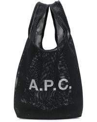 A.P.C. Сумка-тоут С Логотипом - Черный