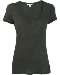 James Perse - スクープネック Tシャツ - Lyst
