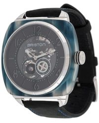 Briston Streamliner Skeleton 40mm 腕時計 - ブラック