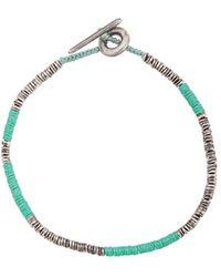 M. Cohen Bracelet en métal - Vert