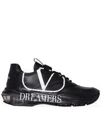 Valentino Vロゴドリーマーズ バウンス スニーカー - ブラック