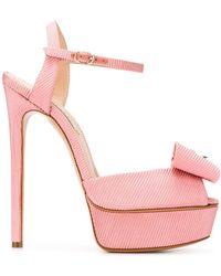 Casadei Sandalen Met Strikdetail - Roze