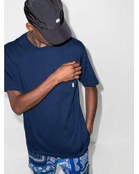 WTAPS T-Shirt mit Brusttasche - Blau