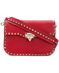 Valentino - Garavani Rockstud Messenger Bag - Lyst
