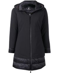 Save The Duck - Padded Hooded Coat - Lyst