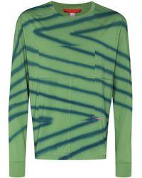 Eckhaus Latta Sweat à logo imprimé - Vert