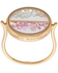Aurelie Bidermann Chivor Ring - Metallic