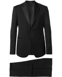 Emporio Armani Classic Two-piece Suit - Black