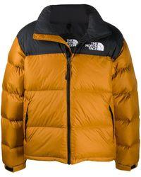 The North Face キルティング パデッドジャケット - ブラウン
