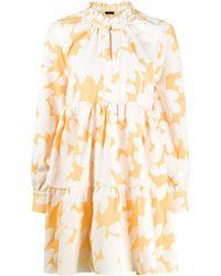 Stine Goya Jasmine フローラル ドレス - オレンジ