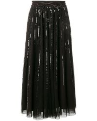 P.A.R.O.S.H. - Full Sequin Embroidered Dress - Lyst
