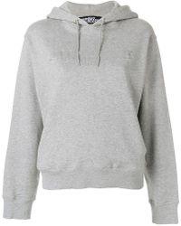 Jeremy Scott - Logo Patch Hooded Sweatshirt - Lyst
