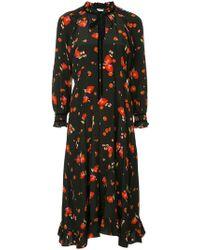 Vilshenko - Poppy Print Dress - Lyst