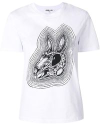 McQ - Bunny Be Here Now T-shirt - Lyst