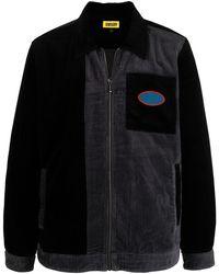 Chinatown Market Two-tone Shirt Jacket - Black