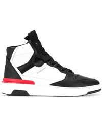 Givenchy Wing High-top Sneakers - Zwart