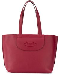Tod's - ロゴ トートバッグ - Lyst