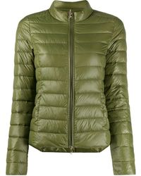 Patrizia Pepe Quilted Padded Jacket - Green