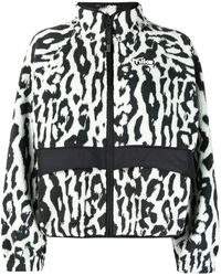 Nike Nsw レオパード ジャケット - グレー