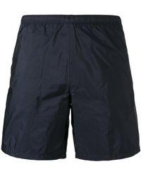 Prada - - Elasticated Waistband Swim Shorts - Men - Nylon/polyester - 48 - Lyst