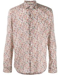 Etro Long sleeved cotton shirt - Multicolore