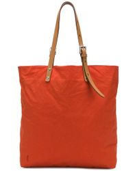 Ally Capellino Natalie Waxed Tote - Red