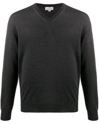 Canali - Vネック セーター - Lyst