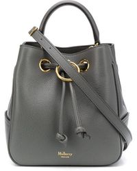 Mulberry Small Hampstead Bucket Bag - Grey