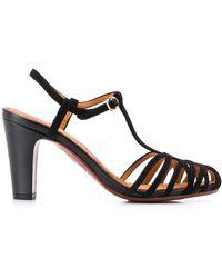 Chie Mihara Geweven Sandalen - Zwart