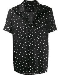 Balmain ポルカドット シャツ - ブラック