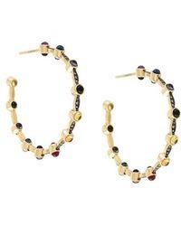Noor Fares - Mandorla Creolet Earrings - Lyst